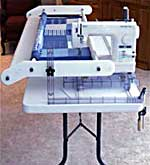 the Handi Quilter