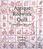 antique redwork quilt - book 1